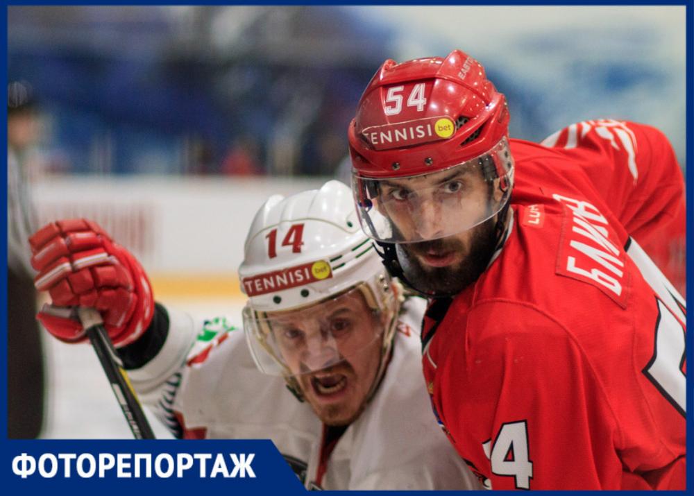 ХК «Ростов» одержал первую победу в финальной серии Первенства ВХЛ