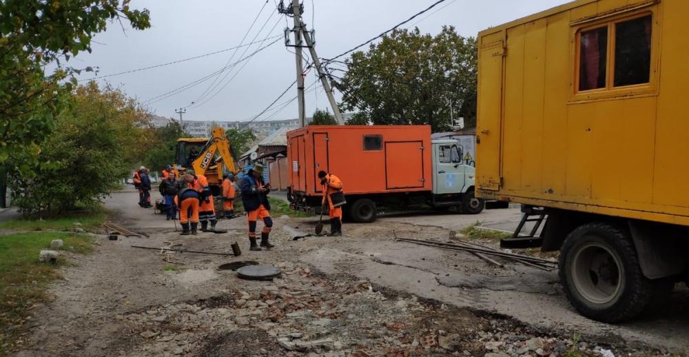 Самую «убитую» улицу страны вРостове начали ремонтировать