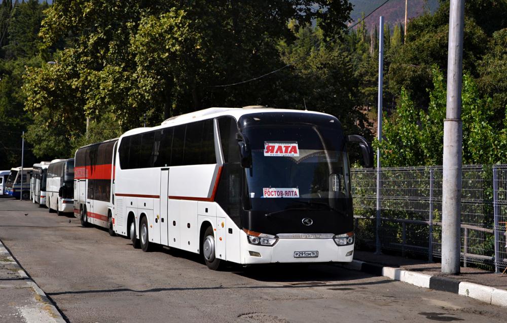 Новый автобус СКА, подаренный Бастой, пять лет возил пассажиров в Ялту