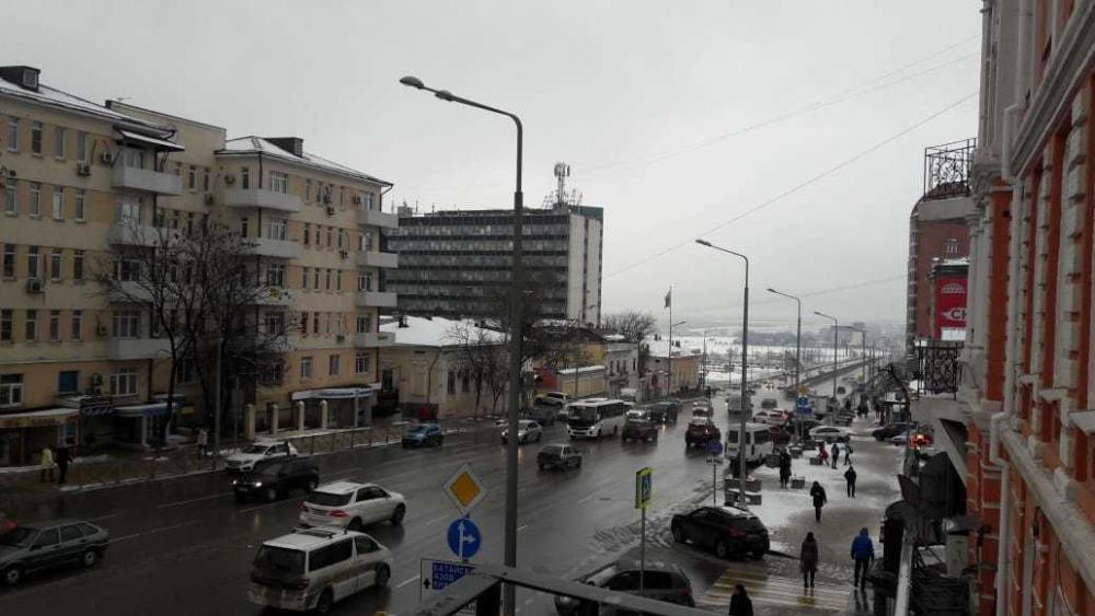 В Ростове-на-Дону началась снежная неделя