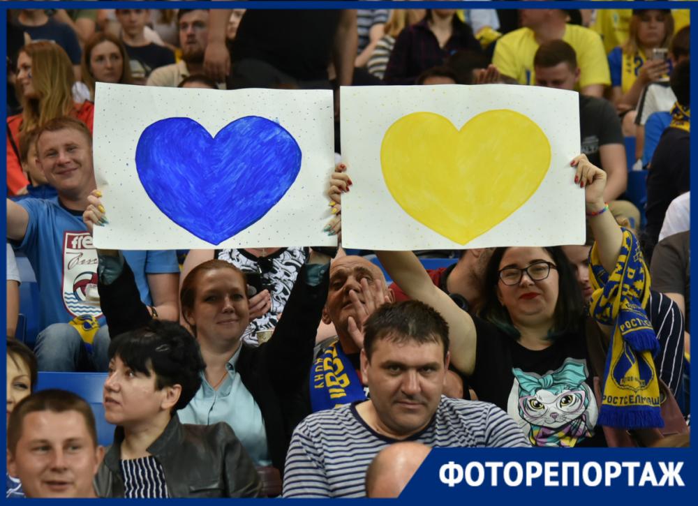 Решающий полуфинал: яркие кадры встречи «Ростова» и«Локомотива»