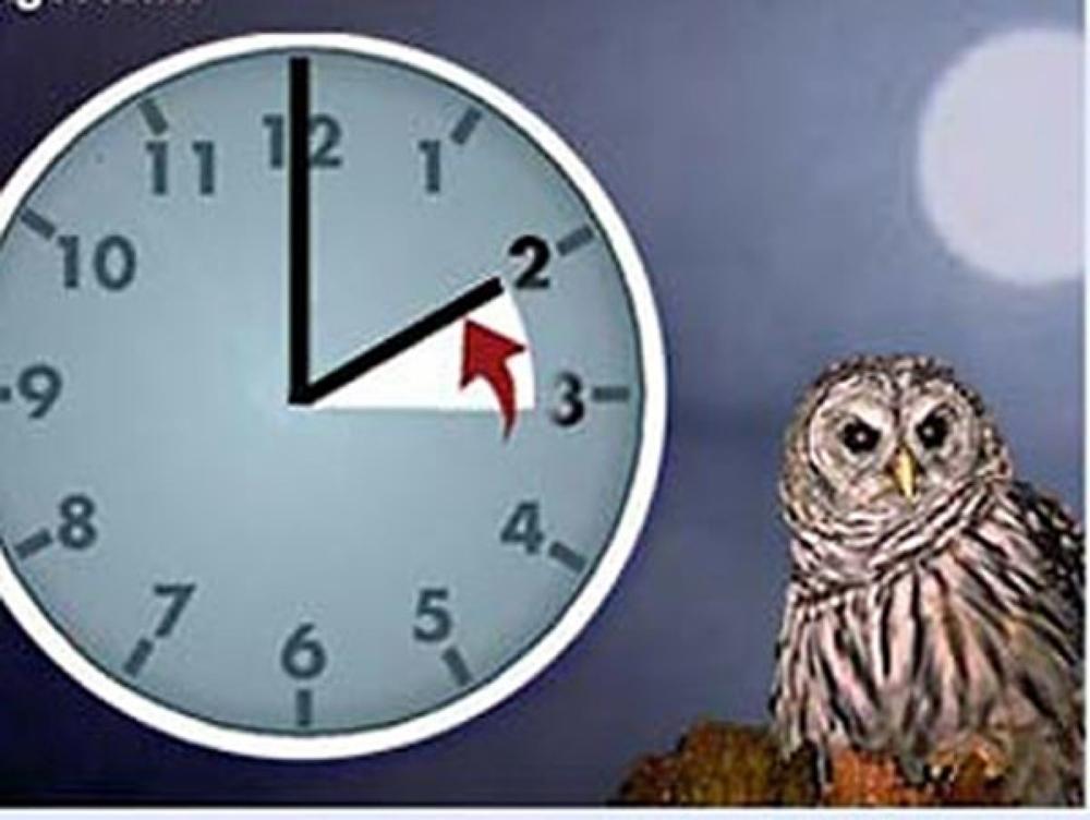 В ночь с 25 на 26 октября ростовчане переведут стрелки часов на час назад