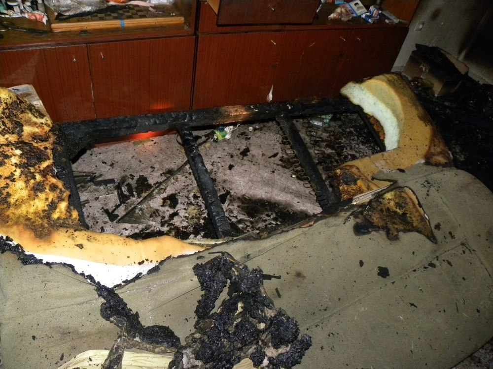 Мужчина заживо сгорел в собственной постели при пожаре в Ростовской области