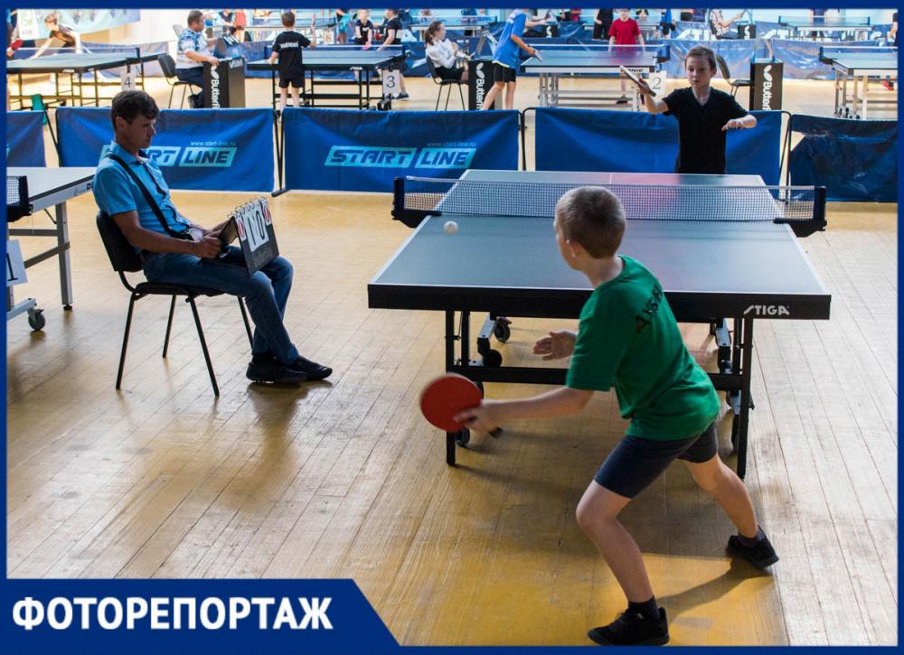 В Ростове стартовал мемориальный турнир по настольному теннису памяти Василия Старикова
