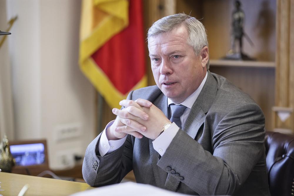 Губернатор Ростовской области уволил руководителя Госстройнадзора