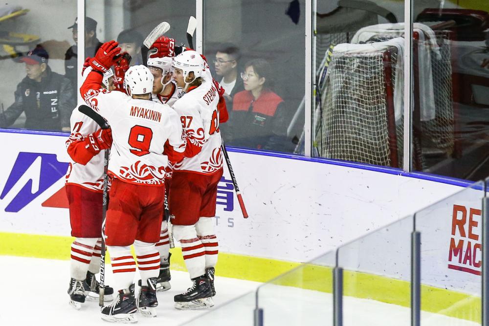 Хоккейный клуб «Ростов» разгромил соперника изКитая