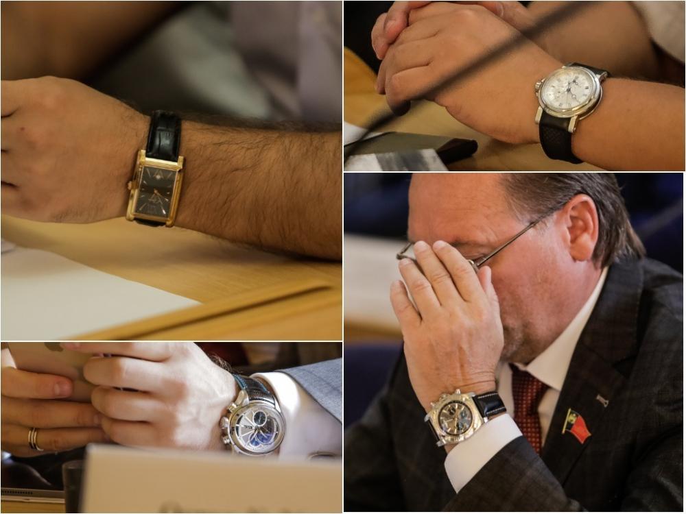 Дороже квартиры: показываем, какие часы надевают ростовские депутаты на заседания гордумы