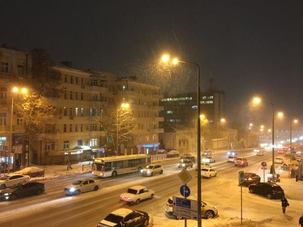 Ростов-на-Дону: пробки 10 баллов и уже 23 аварии