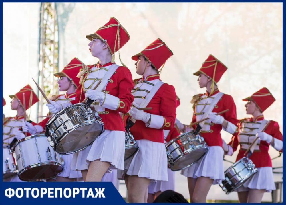 Самые яркие снимки ростовского Фестиваля барабанщиков