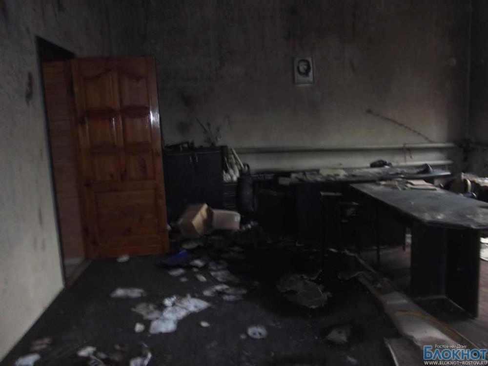 Первые фото из сгоревшего офиса «Справедливой России»