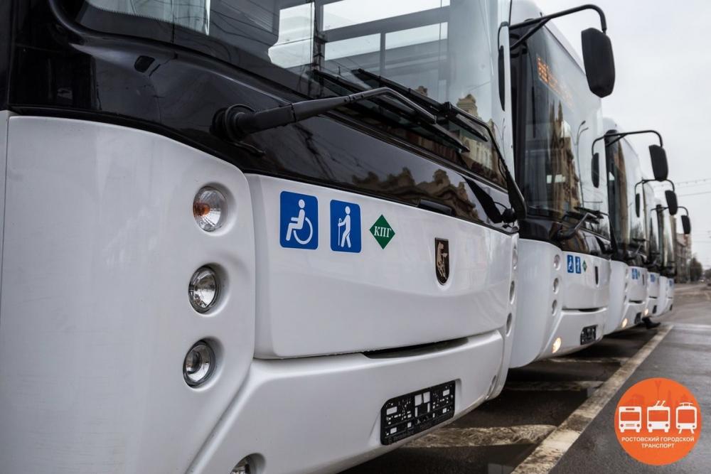 На ростовские маршруты №66-МТ и 80-МТ вышли большие и средние автобусы