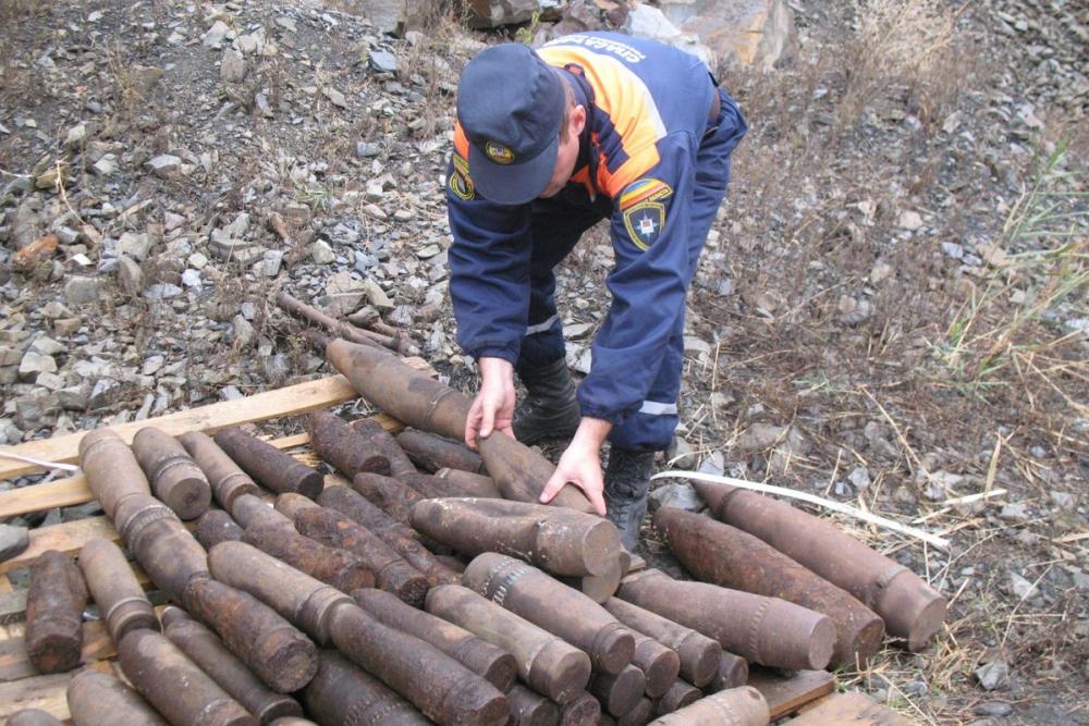 В Ростовской области грибник наткнулся на склад боеприпасов