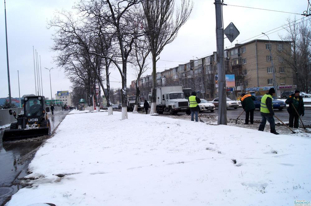 К приезду Путина в Ростове на дорогах исчезли пробки, снег и мусор