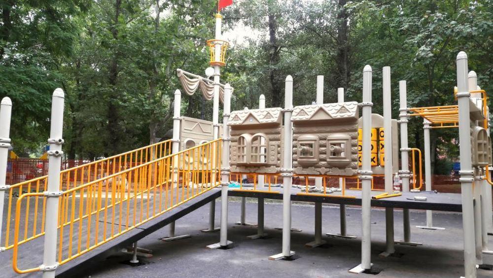 Инклюзивная детская площадка в Ростове-на-Дону обрела сердце