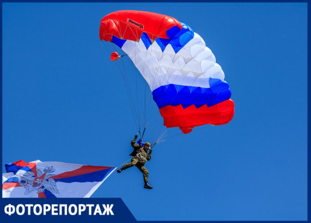 Полевая кухня, парашютисты и много оружия: в ДГТУ прошел военно-спортивный праздник «Поклонимся великим тем годам...»