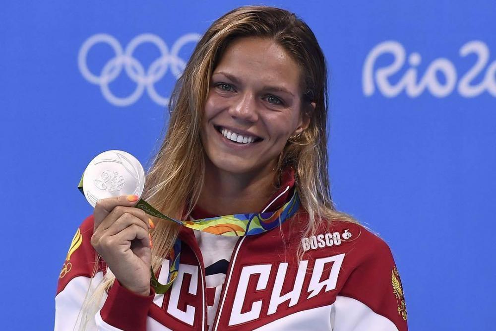 Ростовская пловчиха Юлия Ефимова удивила поклонников фото в прозрачном нижнем белье