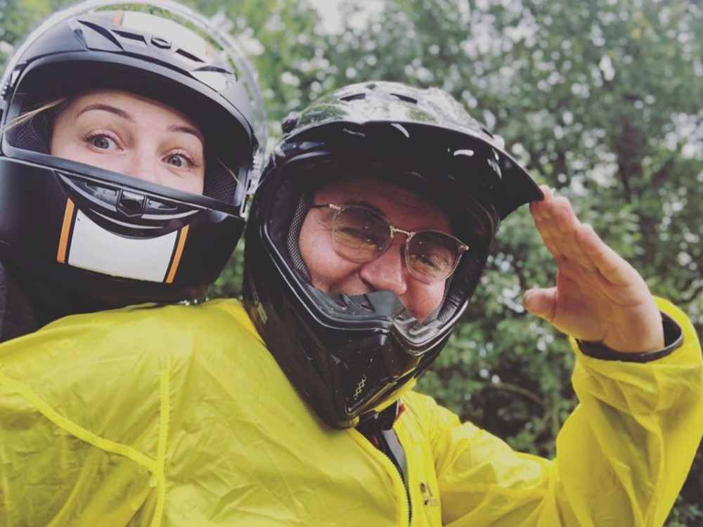 Полина и Дмитрий Дибровы попали в аварию