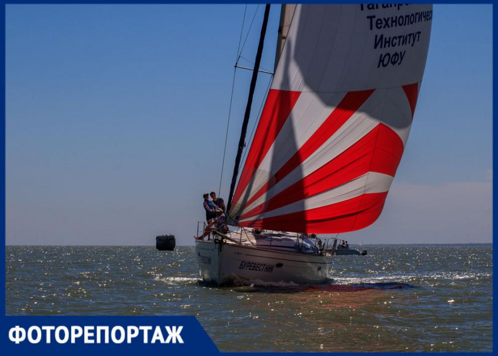 Море, солнце, парус: самые романтические и загадочные фото парусного фестиваля в Таганроге