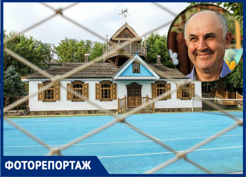 Хутор для олигарха Узденова: показываем, как живут всамой красивой деревне Ростовской области