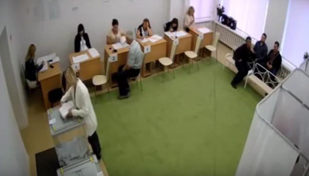 Очередные «вбросы» бюллетеней в Ростове попали на видео
