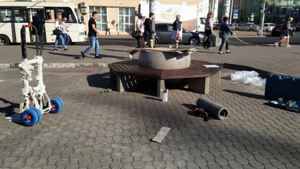 ВРостове началась реконструкция Соборной площади