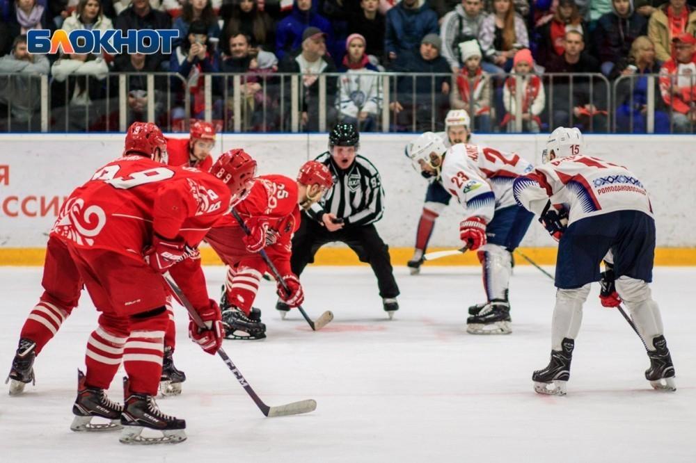 ХК«Ростов» вэтом сезоне будет выступать народном льду