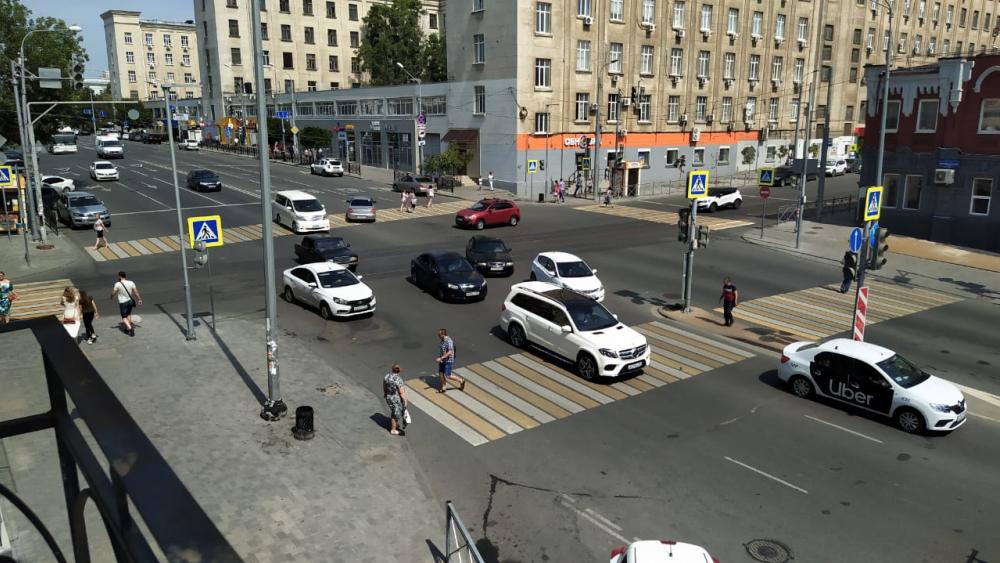 Вцентре Ростова отключилась часть светофоров