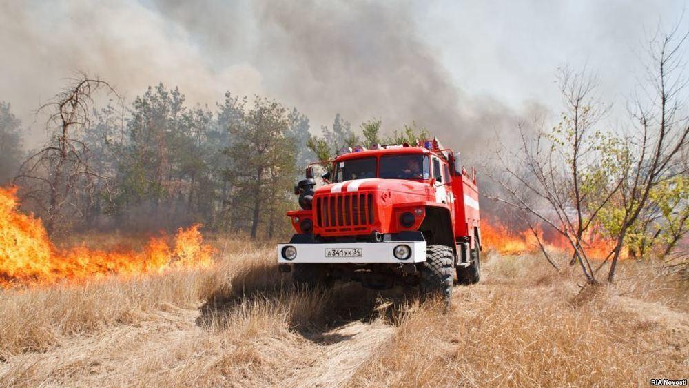 В Ростовской области снова чрезвычайная пожароопасность