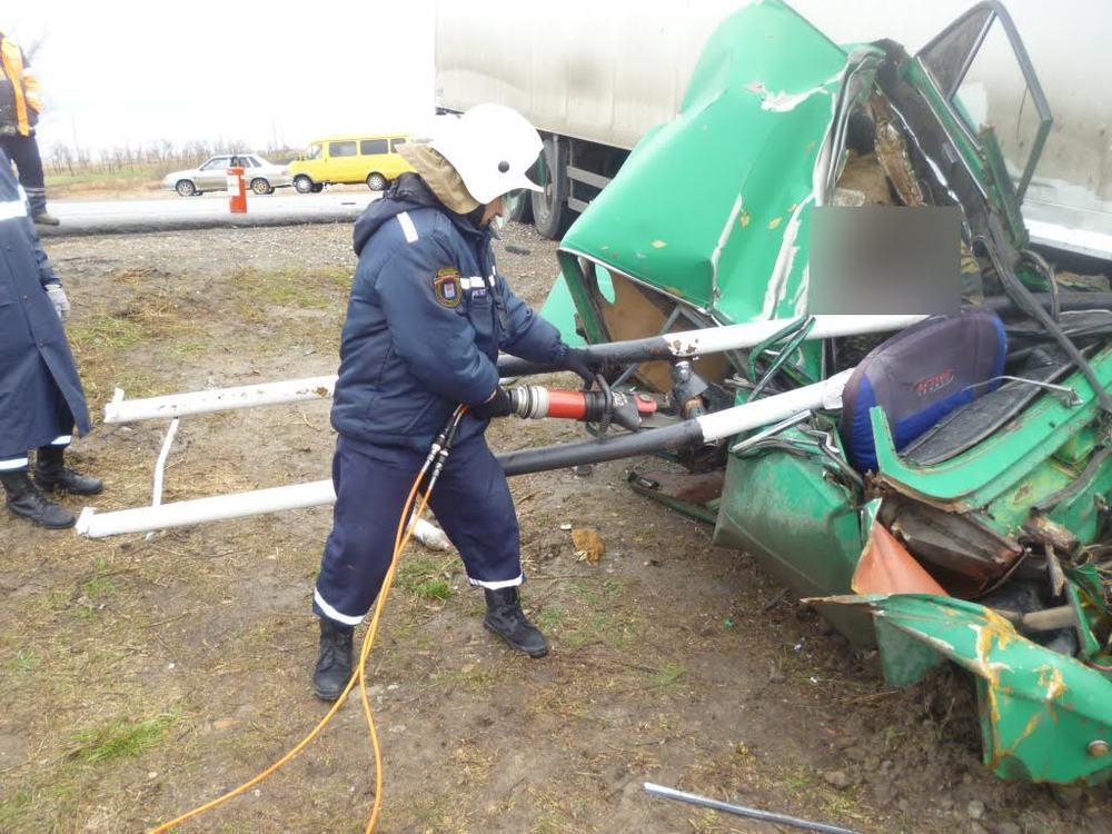 Житель Ростовской области погиб в страшной аварии