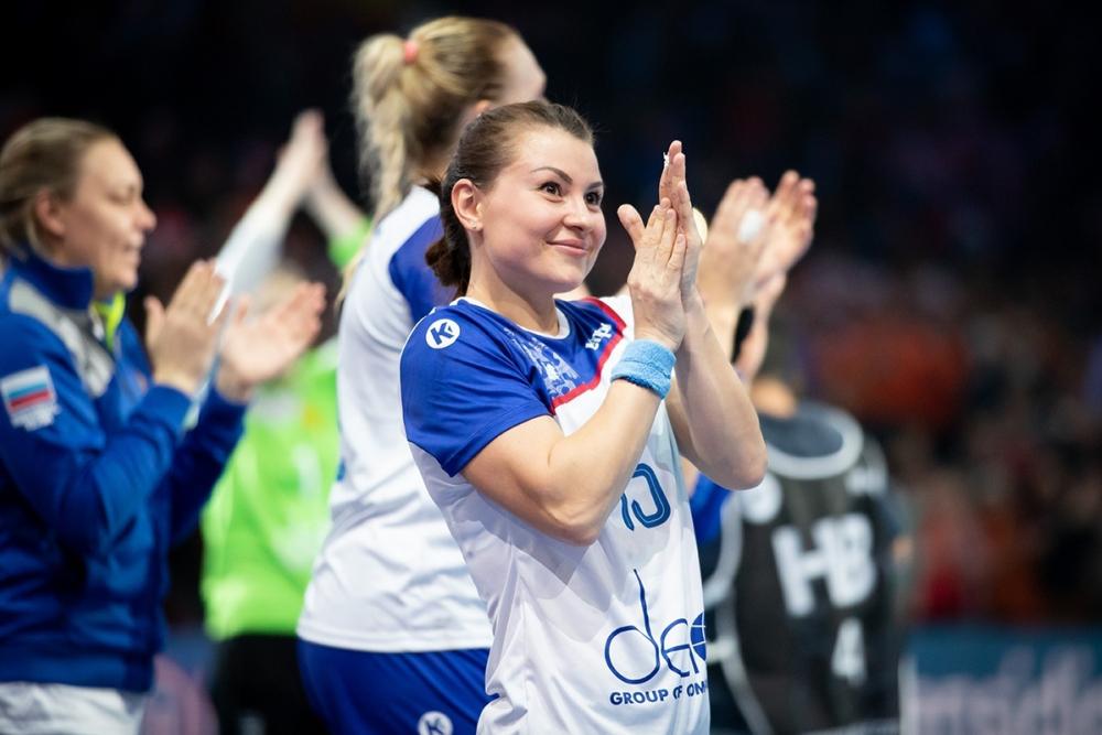 Взаявку сборной России погандболу вошли 11 спортсменок «Ростов-Дона»