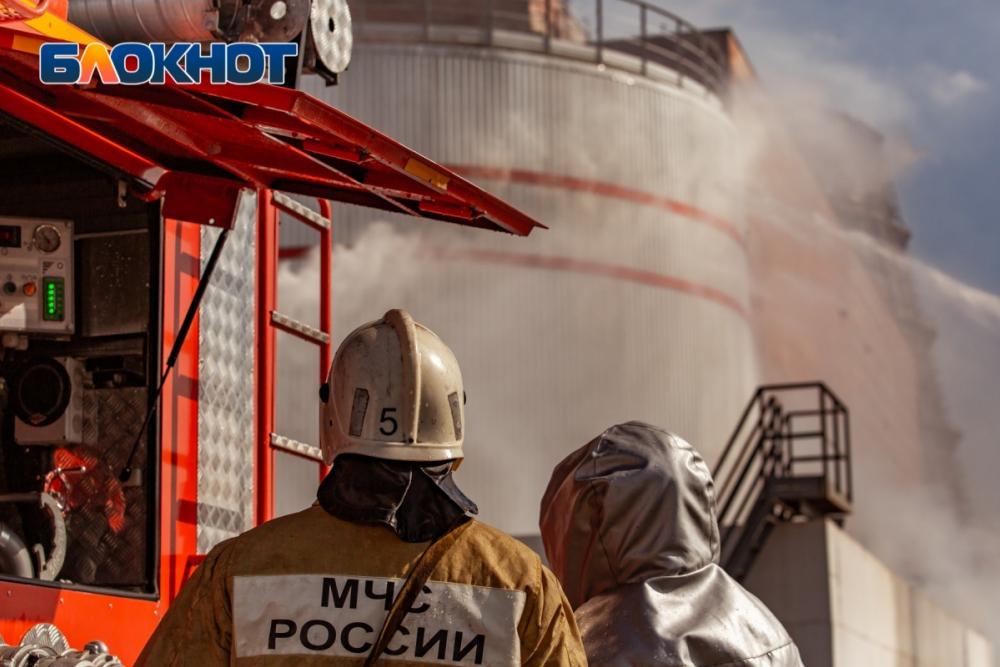 Изгорящей бани вРостовской области спасли человека