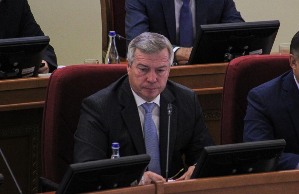 Губернатор Голубев наорал наглавного ветинспектора Ростовской области