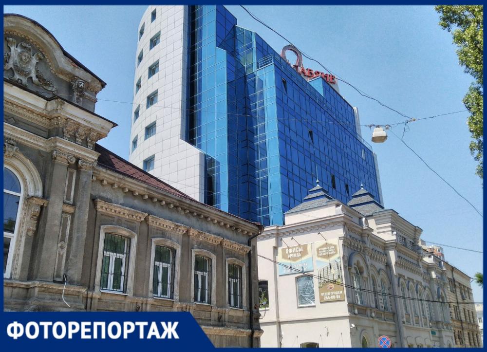 Город контрастов: разваливающиеся хибары Ростова на фоне ультрасовременных высоток