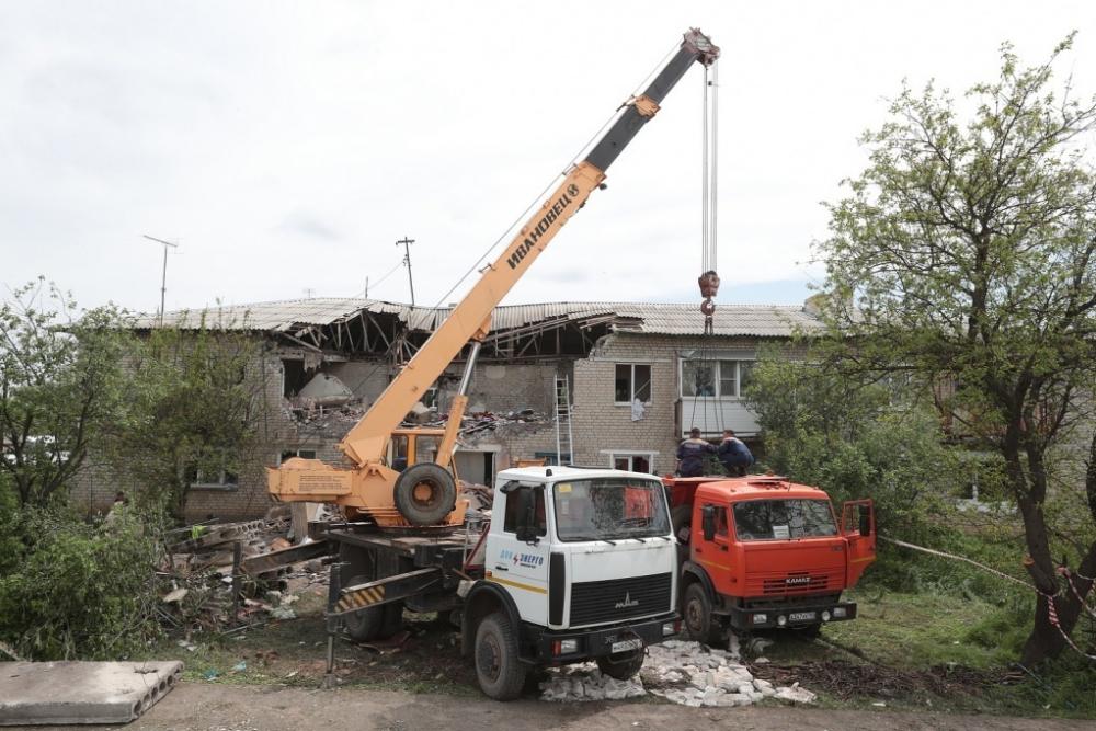 Жильцам взорвавшегося вРостовской области дома выделили 24млн рублей