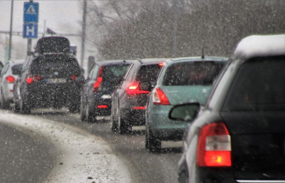 Из-за дождя со снегом пробки в Ростове достигли 8 баллов
