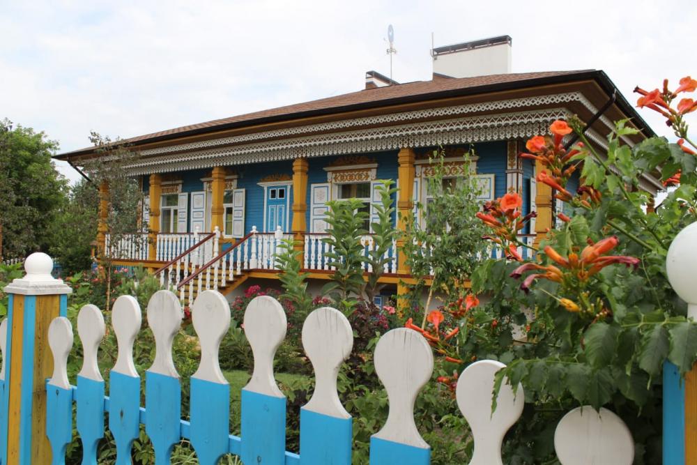 Одна изсамых красивых деревень России находится вРостовской области