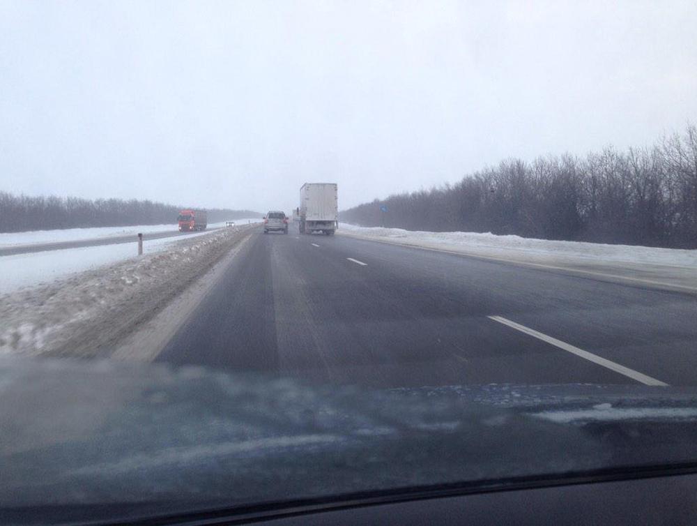 Ограничение движения на трассе М-4 «Дон» снято в Ростовской области