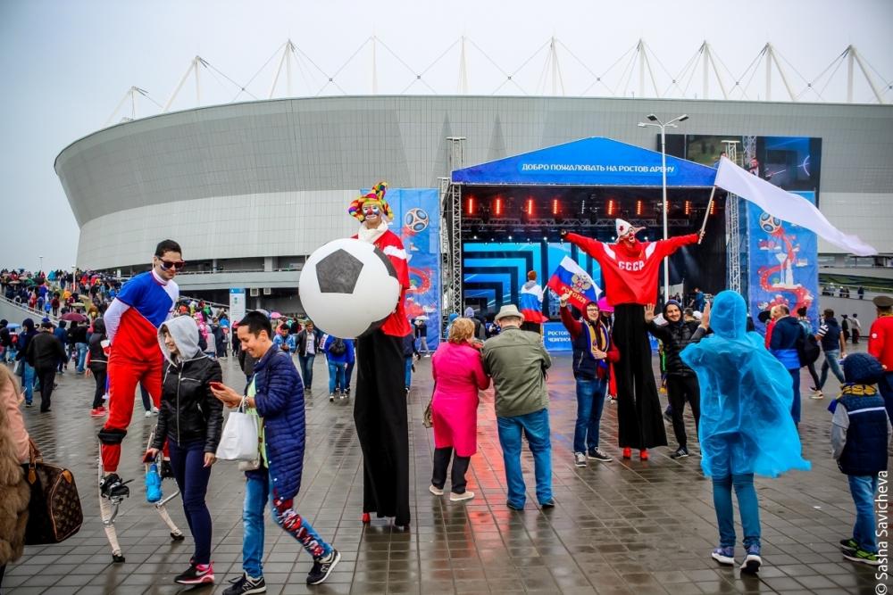 «Ростов Арена»— год встрою: вспоминаем все самое интересное, что произошло настадионе заэто время