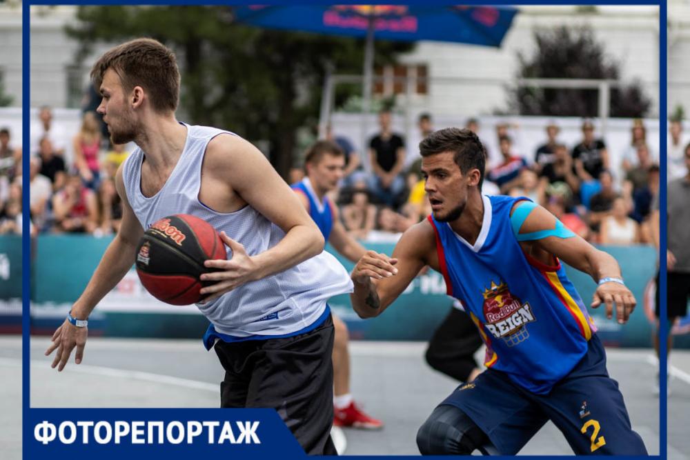 Самые горячие кадры стритбольного турнира Red Bull Reign в Ростове