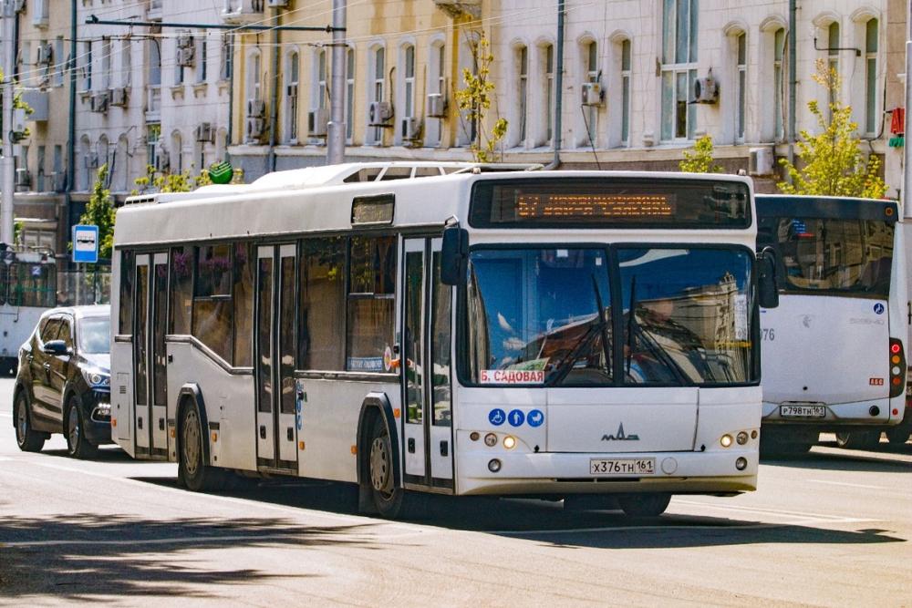 ВРостове в День города изменится схема движения нескольких маршрутов