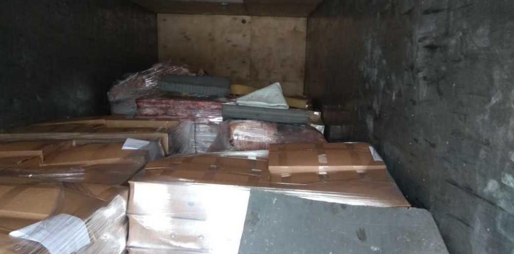 Задержано 9 тонн субпродуктов с липовыми документами