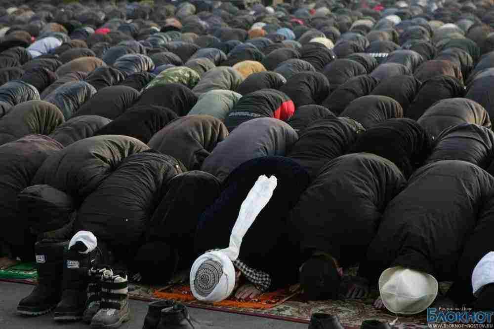 В Ростове мусульмане отмечают Курбан-байрам