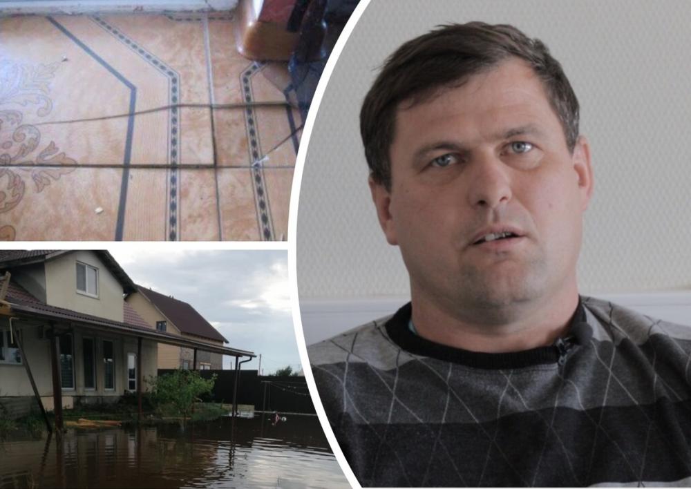Ростовские чиновники оценили ремонт в разрушающемся после ливня доме в ценах 2001 года