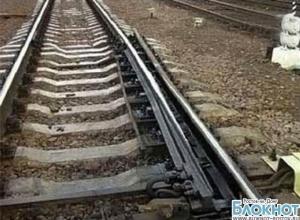 В Ростове во время ливня размыло железнодорожные пути