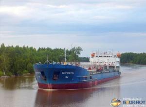 В Ростовской области сняли с мели танкер с мазутом  «Волгонефть»