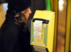 Бесконтактную оплату проезда банковскими картами чиновники запланировали ввести в Ростове в 2017