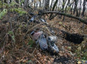 В Ростовской области водитель насмерть сбил скутериста и пытался спрятать тело
