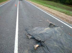 Трусливый водитель КамАЗа сбил молодого мужчину и бросил его умирать на трассе под Ростовом