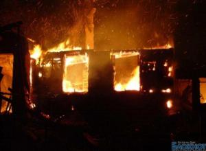 В Ростовской области на пожаре заживо сгорели два человека