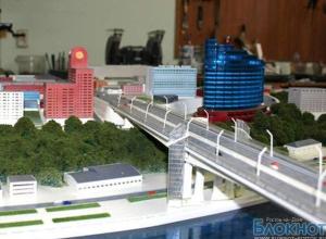 Опубликованы фото макета нового Ворошиловского моста